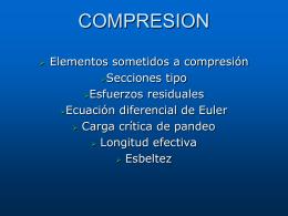 Secciones compactas.