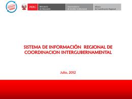 Oficina de Coordinación Regional del MED.