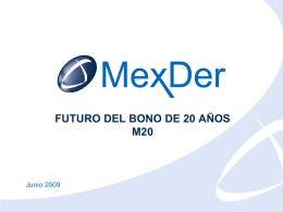 Sin título de diapositiva - Mercado Mexicano de Derivados
