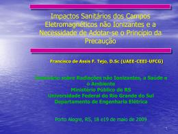 Slide sem título - International Commission for Electromagnetic Safety
