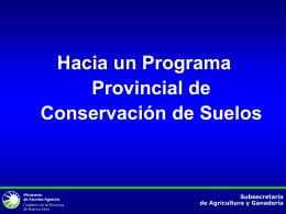 Sin título de diapositiva - Ministerio de Asuntos Agrarios