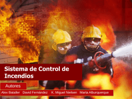 Sistema de Control de Incendios