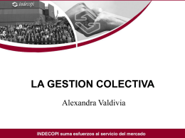 Gestion Colectiva