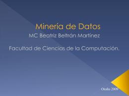 Minería de Datos - Beatriz Beltrán Martínez
