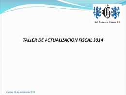 indice taller fiscal