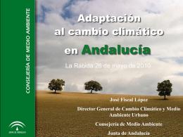 José Fiscal López Director General de Cambio Climático y Medio