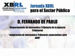 información tributaria - Asociación XBRL España