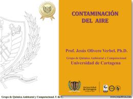 Grupo de Química Ambiental y Computacional. U de C. www