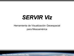 Características de SERVIR Viz