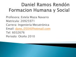 Daniel Ramos Rendón Formacion Humana y Social - FHS-FCE-002