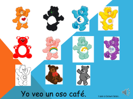 Yo veo un oso de color