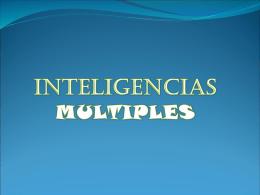 INTELIGENCIAS MULT