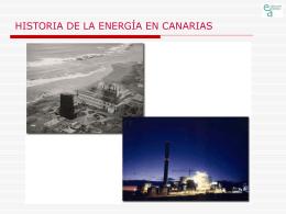 Historia de la energía del petróleo en Canarias