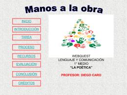 Profesor Diego Caro
