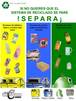 si no quieres que el sistema de reciclado se pare