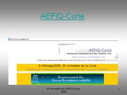 AEFiQ-Curie