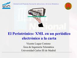 perio - Departamento de Ingeniería Telemática
