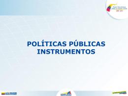 Política Sectorial - Sistema Nacional de Información
