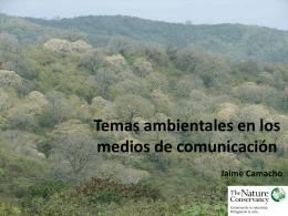 Temas ambientales en los medios de comunicación