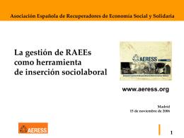 Presentación AERESS-UCA