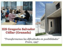 IES Gregorio Salvador - Plataforma colaborativa del CEP