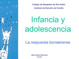 Presentación sobre INFANCIA Y ADOLESCENCIA