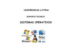 sistemas operativos - Docencia FCA-UNAM