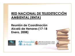 Docencia y Difusión. - Asociación Española de Teledetección