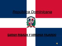 SARAH RIBADA Y VIRGINIA FAJARDO República
