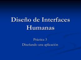 Diseño de Interfaces Humanas