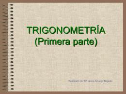 CLASE 4. TRIGONOMETRIA