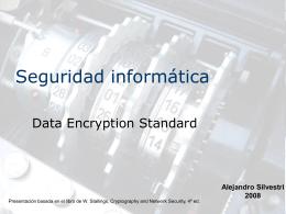 Seguridad informática - DES