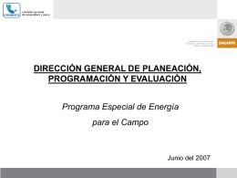 Programa de Energéticos.