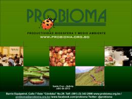Trichoderma spp y su potencial en Biorremediación de suelos.