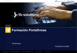 Formación Portafirmas - TIC - Diputación Provincial de Teruel