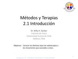 Calculo de Dosis 2.1 Introducción