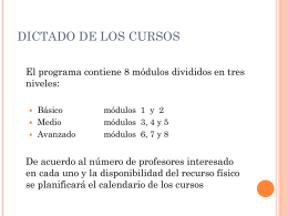 CURSOS Juan Lissete