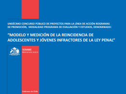 ppt_licitacion_estud.. - SENAME Servicio Nacional de Menores