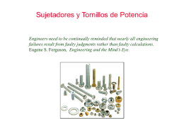 Chapter 15: Fasteners and Power Screws