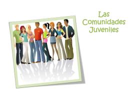 Comunidades Juveniles - itepal-dpj