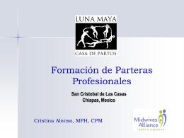 10. Formación de Parteras Profesionales