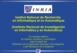INRIA - ERCIM