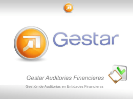 Gestar Auditorias Financieras