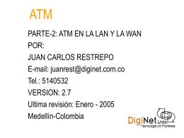 ATM EN LA LAN