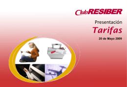 RESIBERpax - Tarifas - Iberia Web Sistemas