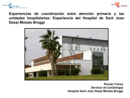 Ruta Assistencial Insuficiència Cardíaca HSJDMB-CAP