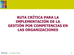instalación y gestión por competencias