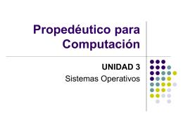 3.2 Sistemas operativos más utilizados