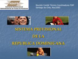 República Dominicana - V Reunión
