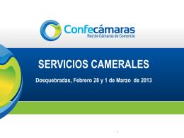 Servicios Camerales